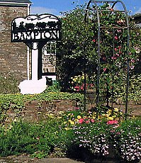 Bampton in Bloom - the Stage