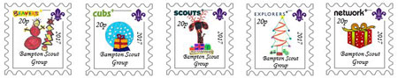 Scout Stamps 2017