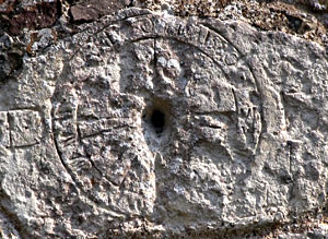 Bampton church sundial