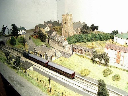 Railway model now in Heritage Centre