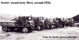 Scott's steam lorries